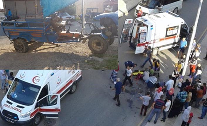 Patpat kazalarında 21 yaralı