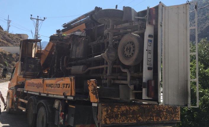 Artvin'de kaza: 1 ölü 1 yaralı