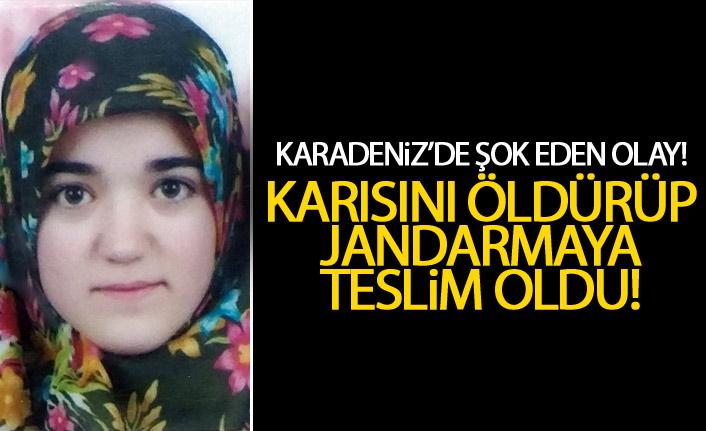 Karadeniz'de Şok eden olay! 2 çocuk annesini pompalı ile öldürdü!
