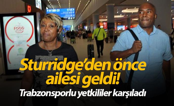 Sturridge'nin ailesi Trabzonspor için İstanbul'da!