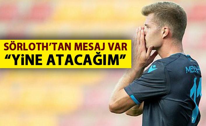 Trabzonspor'un golcüsü Alexandar Sörloth sabırsız!: Yine atarım!