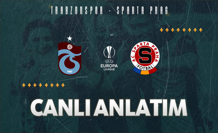 Trabzonspor - Sparta Prag   CANLI ANLATIM