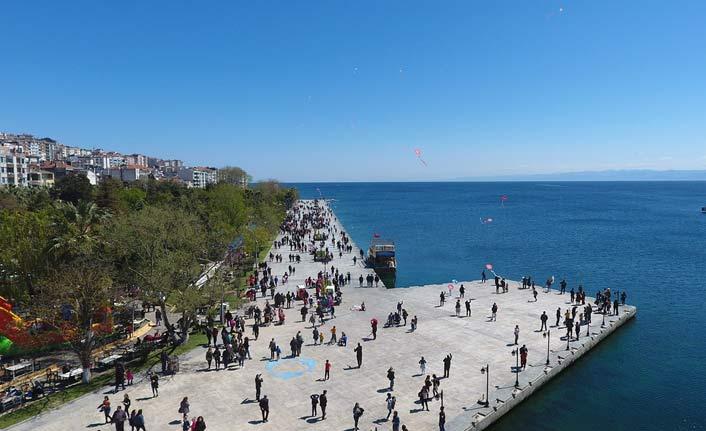 Sinop'ta turizm sevinci