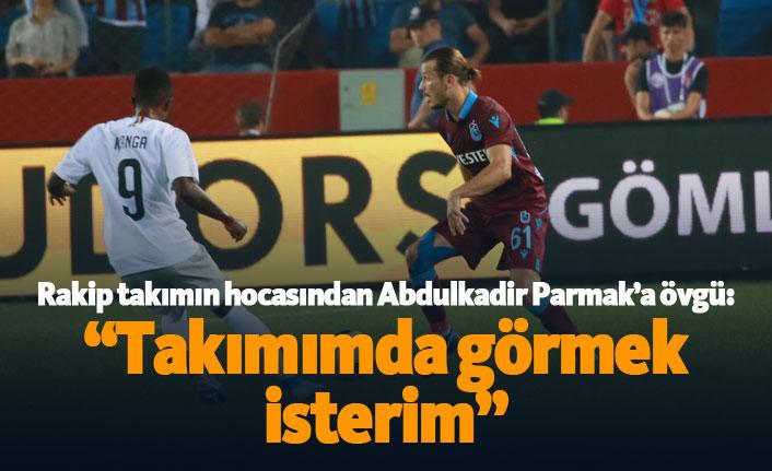 """Sparta Prag teknik direktöründen Abdulkadir Parmak'a övgü: """"Takımımda görmek isterim"""""""