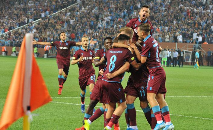 Trabzonspor'dan tarihi bir maç! Rekor kırdı!