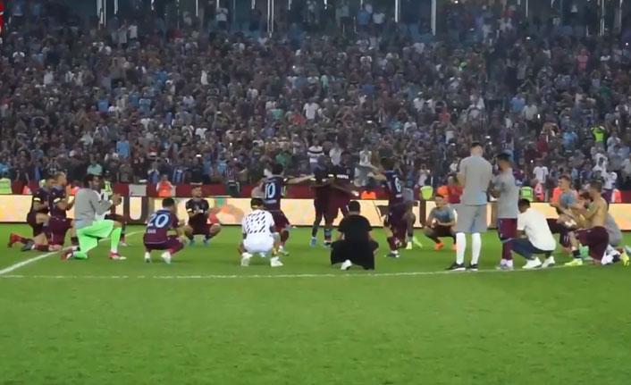 Trabzonspor - Sparta Prag maçı sonrası kolbastı şov!