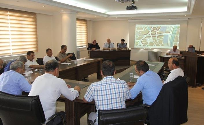 Bayburt'ta meclis toplantısı yapıldı
