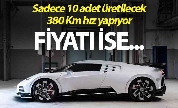 Bugatti yeni modeli Centodieci'yi sergiledi
