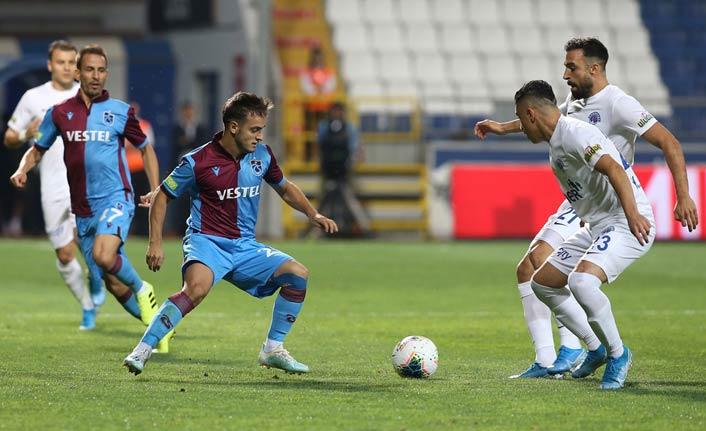 Trabzonspor'da 5 isim ilk kez...