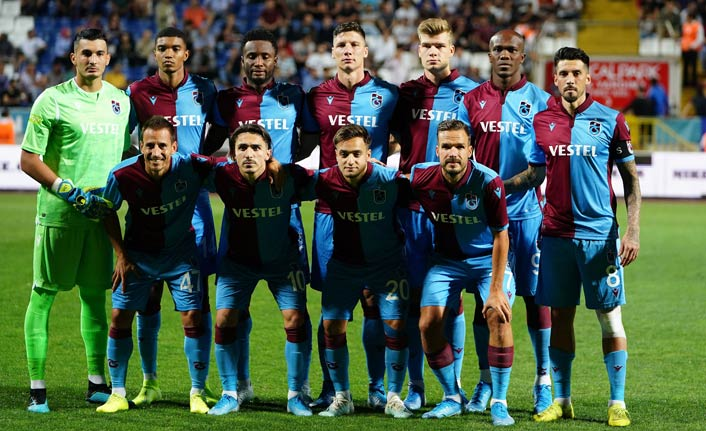 Trabzonspor'dan ilk maçta 1 puan