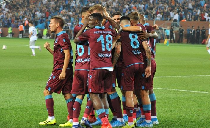 Trabzonspor'dan dikkat çeken Kasımpaşa deplasmanı istatistiği