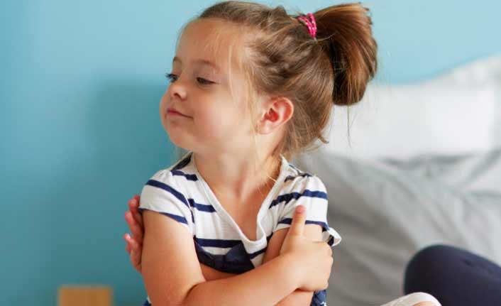Çocuklardaki inatla baş etme yolları