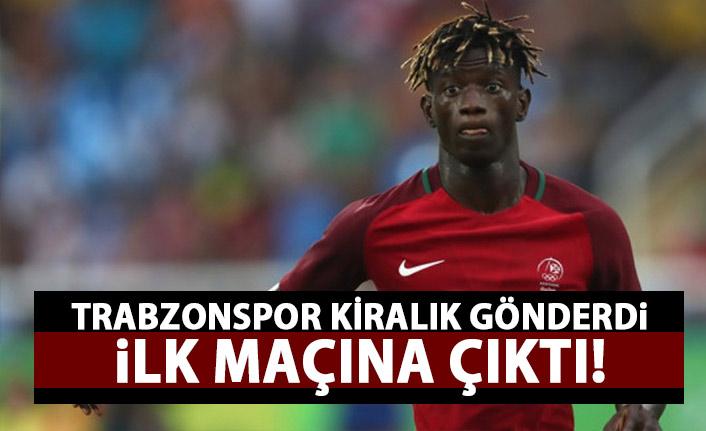 Trabzonspor'un kiralık gönderdiği Edgar Le ilk maçına çıktı!