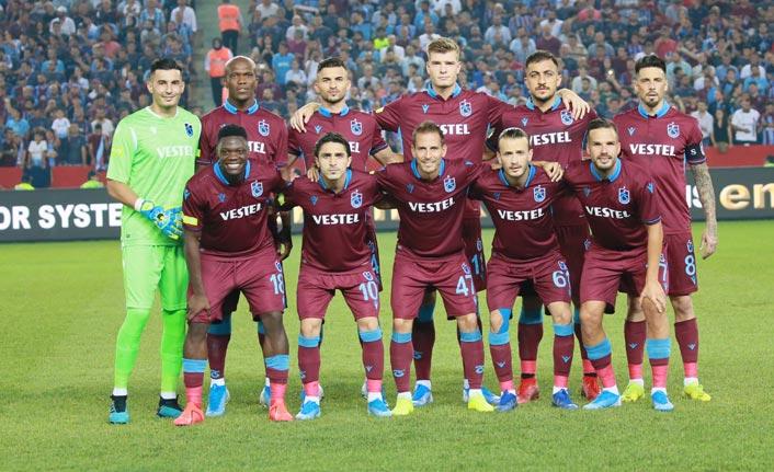 Trabzonspor Avrupa'da ilk kez...