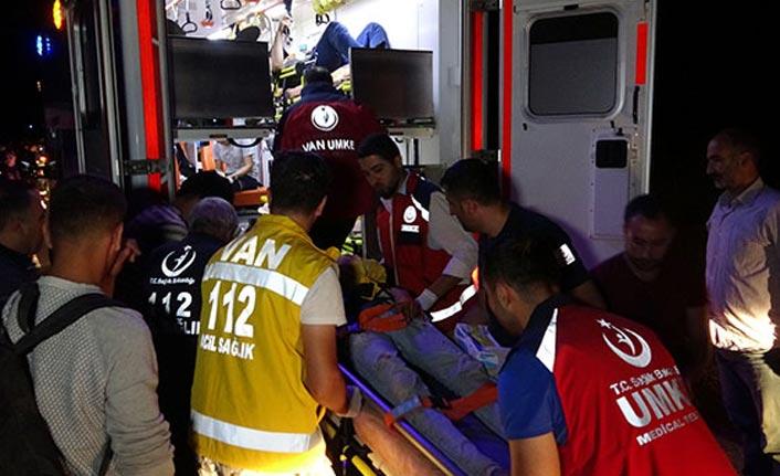 Kaza: 43 yaralı