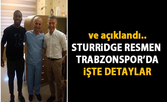 SON DAKİKA! Trabzonspor Sturridge'yi resmen açıkladı