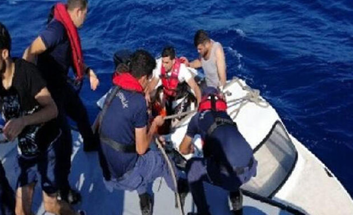 Bodrum açıklarında 60 kaçak göçmen yakalandı