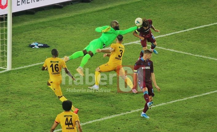 Abdulkadir golü attı ama korkuttu!