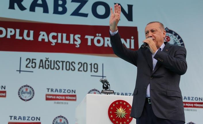 Cumhurbaşkanı Erdoğan Vali Ustaoğlu ve Başkan Zorluoğlu'ndan bilgi aldı