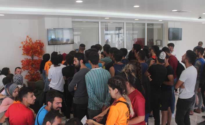 260 kişilik kontenjana 2 bin 500 başvuru