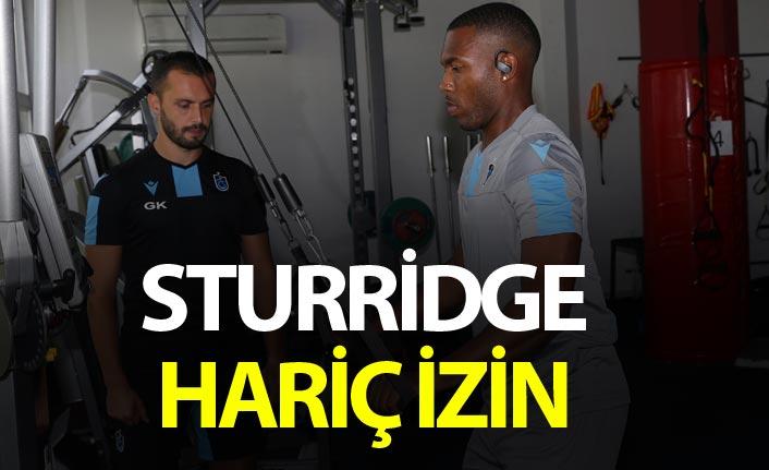 Trabzonspor'da Sturridge harç izin