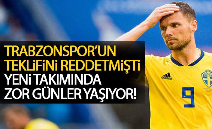 Trabzonspor'u reddetmişti! Gitiiği takımda protesto edildi!