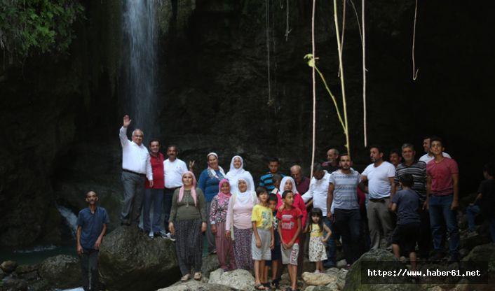 'Saklı Şelale' turizme kazandırılıyor