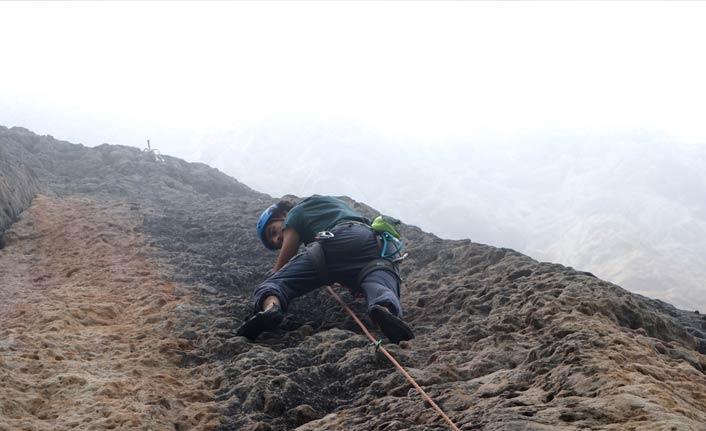 """""""3. Uluslararası Kaya Tırmanışı Festivali"""" Trabzon'da başladı"""