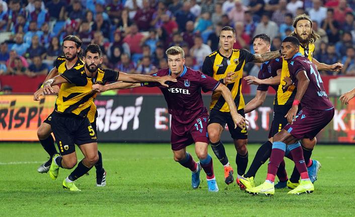 Trabzonspor tarihinde 3. kez...