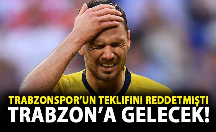 Trabzonspor'un teklifini kabul etmemişti! Trabzon'a geliyor