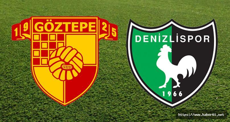 Göztepe - Yukatel Denizlispor maç sonucu