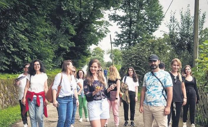 Sen Anlat Karadeniz için Trabzon'a geldiler!