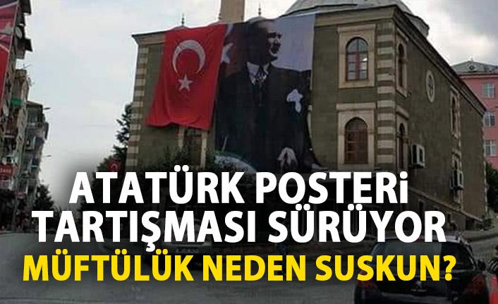 Atatürk posteri tartışması sürüyor!