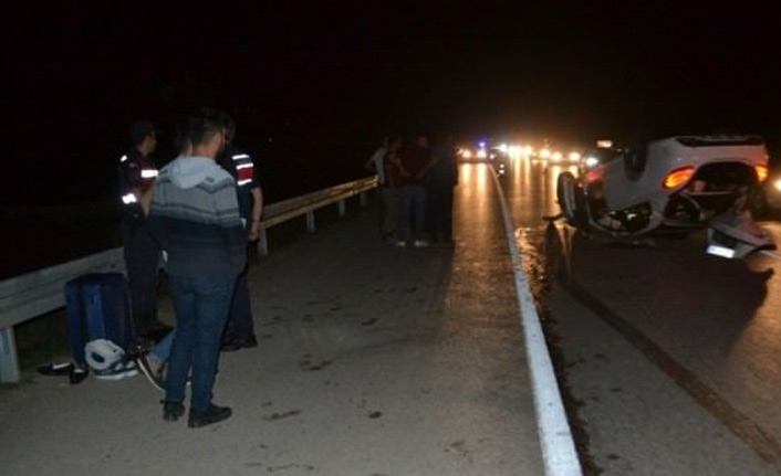 Bursa'da trafik kazası: 10 yaralı
