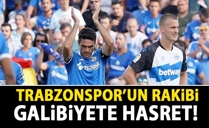 Trabzonspor'un rakibi Getafe galibiyeti unuttu!