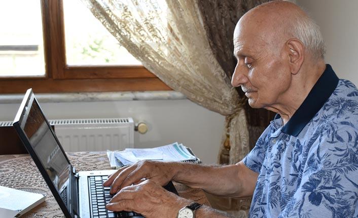 Trabzon'da emekli öğretmen İzlediği filmden esinlenerek bakın ne yaptı