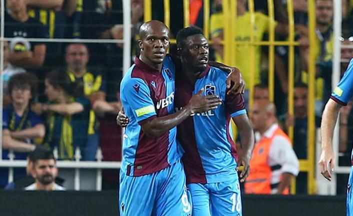 Trabzonspor'un muhteşem ikilisi Nwakaeme ve Ekuban