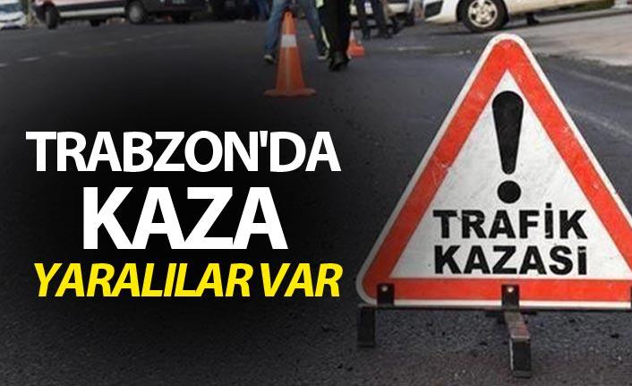 Trabzon'da kaza - Yaralılar var