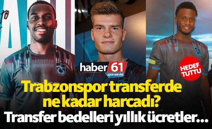 Trabzonspor transferde ne kadar harcadı?