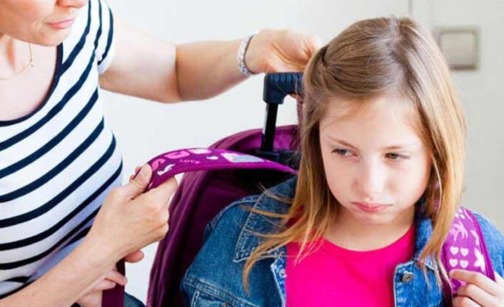 """""""Okul değil, tatilin bitmesi çocukları strese sokuyor"""""""