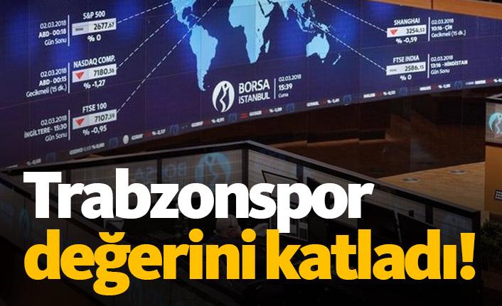 Trabzonspor değerini ikiye katladı