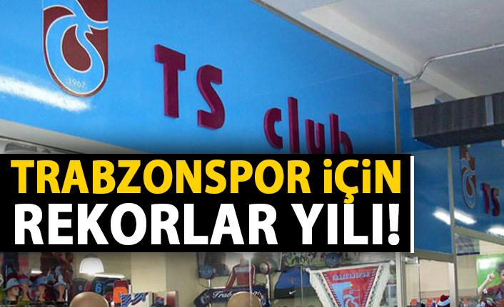 Trabzonspor için rekorlar yılı
