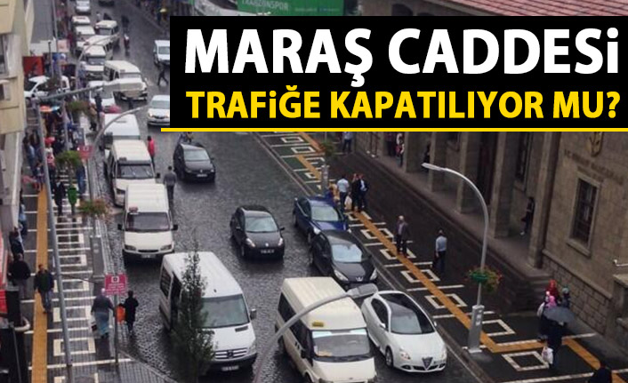 Trabzon'un en işlek caddesi trafiğe kapatılıyor mu?