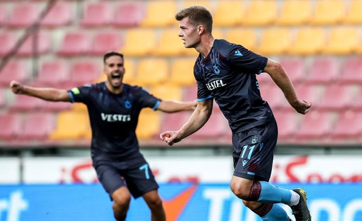 Trabzonsporlu Sörloth hedefini açıkladı