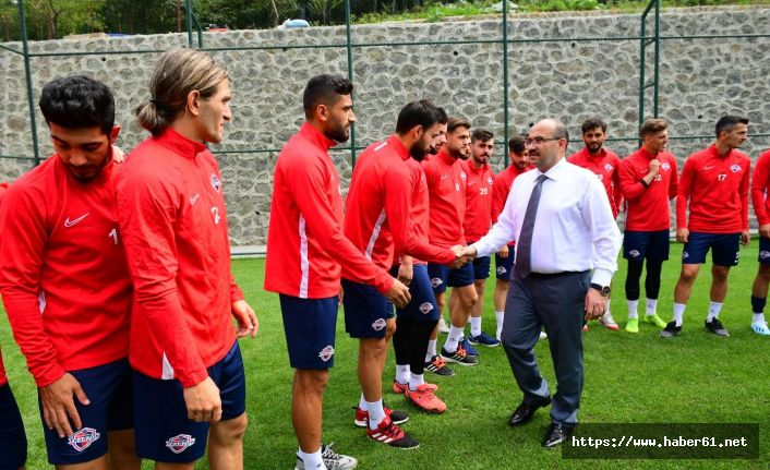 Vali Ustaoğlu'ndan Trabzon FK'ya ziyaret
