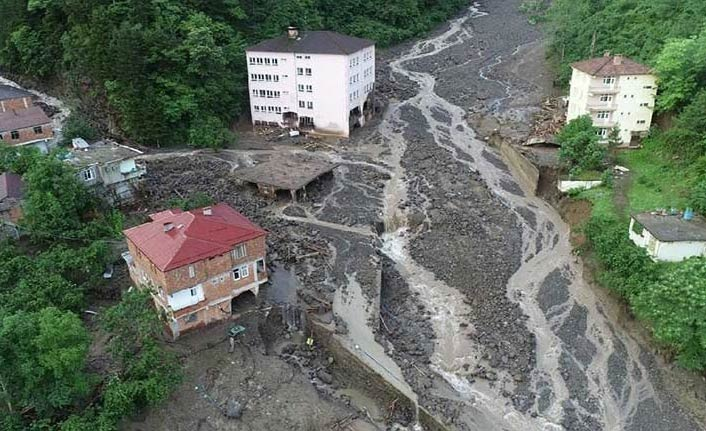 Araklı'da selde kaybolanlar için yeni gelişme!
