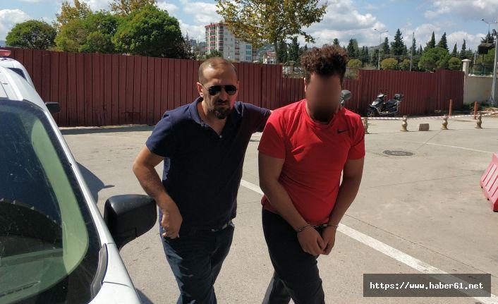 Bekar evinde uyuşturucu satışına gözaltı