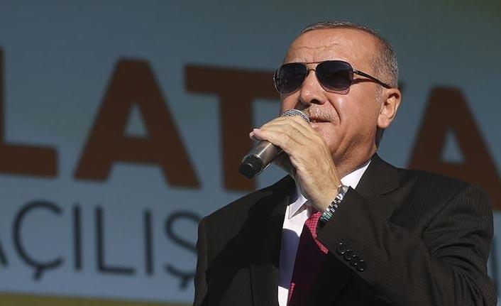 Cumhurbaşkanı Erdoğan'dan güvenli bölge çıkışı