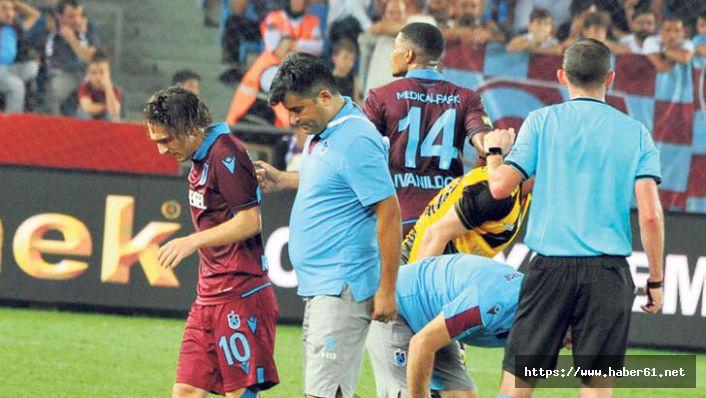 Trabzonspor'un doktorunun istifasında milli takım ayrıntısı!