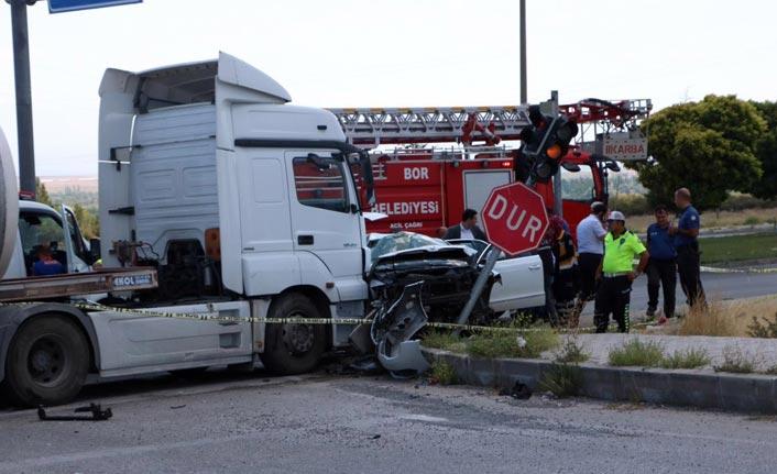 Emniyet Müdürü ve ailesi kaza geçirdi - Acı haber geldi
